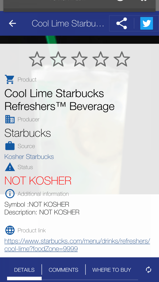 Kosher starbucks list is added to is it kosher is it kosher currently there are several kosher authorities listed as certifying organizations biocorpaavc Gallery