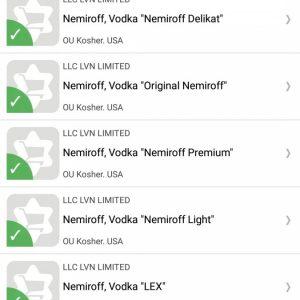 Kosher vodka – Is Nemiroff Kosher?