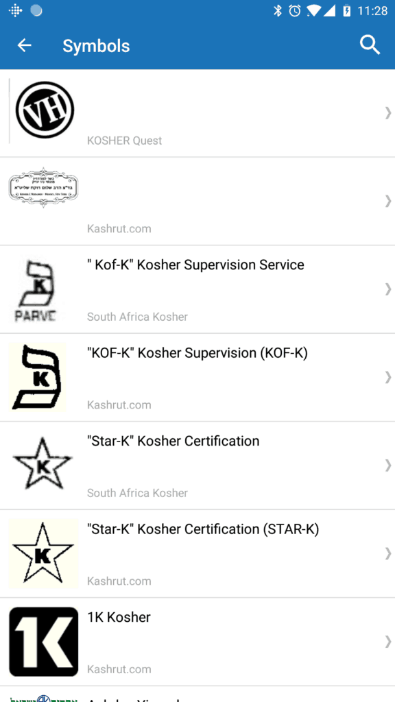 Search For Kosher Products Is It Kosher App